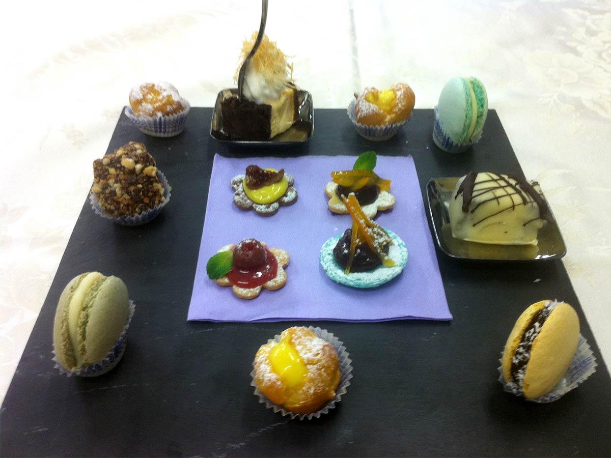 e Dessert, dulcis in fundo!